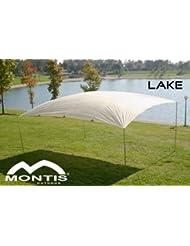 MONTIS LAKE, carpa tamaño grande, blanca, aprox. 4 x 5 m, 4,4 kg