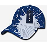 Decky 237-RYL Splat Polo Caps - Royal