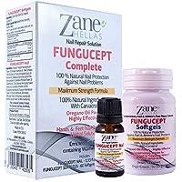 Zane Hellas FunguCept Softgels. Para obtener mejores y más rápidos resultados. Softgels de apoyo para el FunguCept Nail y el FunguCept Athlete's. 60 cápsulas blandas.