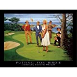 Die besten Golfplätze Poster - Putting für Birdie von Clemente Micarelli 32x 24ART Bewertungen