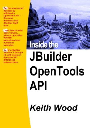 Inside The Jbuilder Opentools Api por Keith Wood