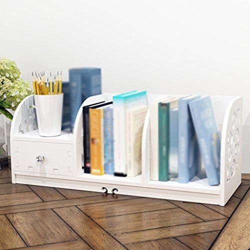 DFHHG® Librería Soporte de libro 60 (largo) * 22.5 (anchura) * 24 (alto) durable