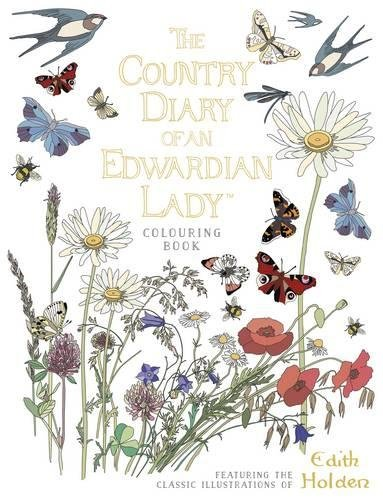 The Country Diary of an Edwardian Lady Colouring Book por Edith Holden