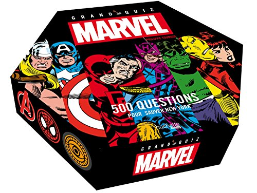 Grand Quiz Marvel: 500 questions pour sauver New York par Nicolas Beaujouan