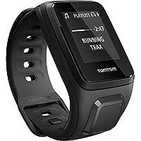 TomTom Spark Cardio + Musik GPS-Fitnessuhr schwarz, Größe S