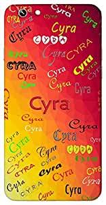 Cyra (Beautiful Moon Like the Sun) Name & Sign Printed All over customize & Personalized!! Protective back cover for your Smart Phone : Moto G2 ( 2nd Gen )