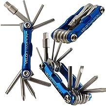 VeloChampion Multi Herramientas Portable 10-en-1 Para Bicicleta - Herramienta Multifuncion De Reparacion