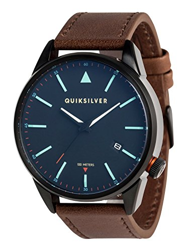 Quiksilver The Timebox Leather - Reloj Analógico para Hombre EQYWA03024