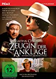 Agatha Christie: Zeugin der Anklage (Witness for the Prosecution) / Fulminante Verfilmung des Agatha Christie-Klassikers