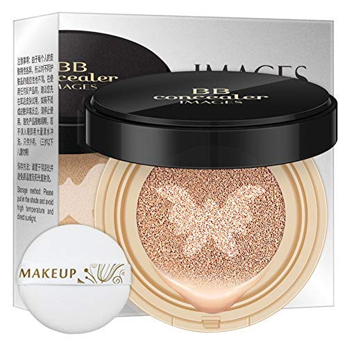 Allbestaye Air Cushion BB CC Cream Sunscreen Concealer Moisturizing Foundation Whitening Makeup Base For Face Makeup