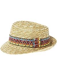 JTC(TM) Men Women Woven Straw Fedora Trilby Sun Hat Panama Cap Colored Stripe Band