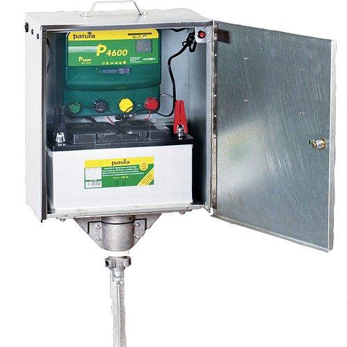 P4600, Batterien Multifunktions-Gerät, 230V/12V mit elektrifizierter Box und Erdstab - 145470