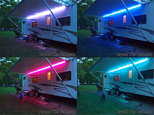 RGB COLOUR CHANGE LED Light 12V DC Caravan Motorhome Outdoor Lighting F45 F65
