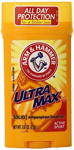 Arm & Hammer Ultra Max Invisible Solid Deodorant-2.8 Oz