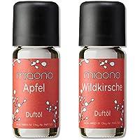 Duftöle von miaono - Wunderbare Welt der Düfte - Aromaöle für himmlichen Raumduft (Apfel-Kirsche, 2er Set 2x10ml) preisvergleich bei billige-tabletten.eu