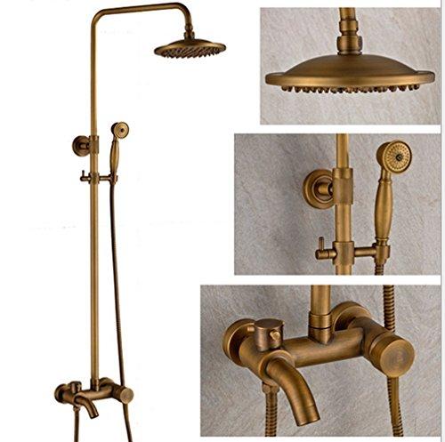 MoMo Dusche Set Retro Dusche Ein Komplettes Set Dusche Wasserhahn Regen Dusche Railroad Bronze