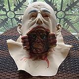 GZD Víspera de Todos los Santos terror diablo máscara COS Llorando Diablo puede llorar Zombi Zombi vampiro casa Accesorios Cámara de los Secretos Cabeza de ogro
