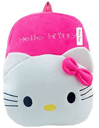 Richy Toys Hello Kitty Cute Kids Plush Backpack Cartoon Toy Children's Gifts Boy/Girl/Baby/Student Bags Decor School Bag For Kids