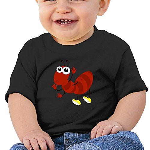 kking-cartoon-red-ant-baby-boys-girls-fashion-tshirt-black-24-months