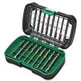 Hitachi - 750361 - Set 18 puntas de atornillar extra-largas 75 mm PH1-2-3, PZ1-2-3, Planas 4.5-6.5,...