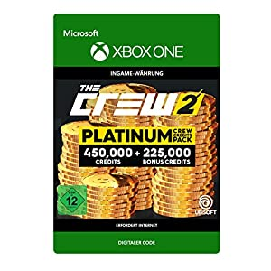 The Crew 2 Platinum Crew Credits Pack DLC | Xbox One – Download Code