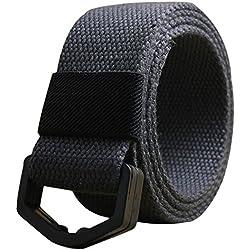 Leisial™ Lona Cinturón de Plástico Ocasional Deporte al Aire para Unisex