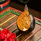 ExclusiveLane Bird Nest Shaped Table Tea Light Holder In Iron - Tea Light Candle Holders & Stand, T - Light Holder Table Décor Diya Holder
