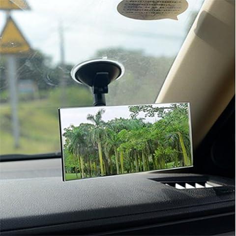 Baby Rearview Auto Spiegel Auto Innen Saugnapf Rückspiegel verstellbare Weitwinkel Rückansicht Blind Spot Spiegel (Square)