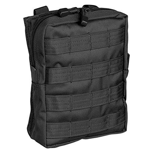 Molle Belt Pouch Large, Gürteltasche schwarz - Schwarz Belt Tasche