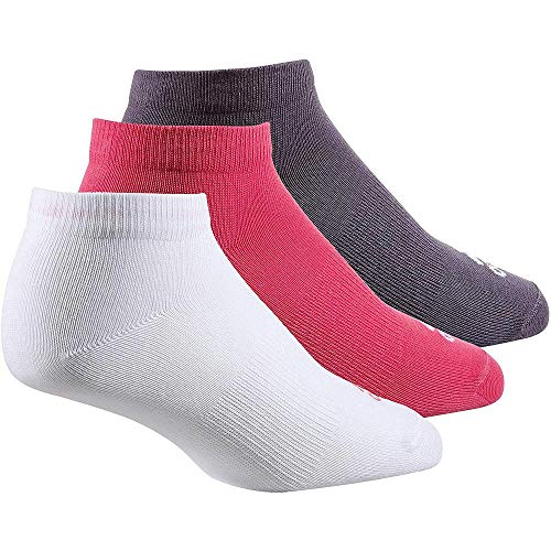 adidas Per no-sh T 3pp Socks, real pink s18/White/Trace Purple s18, 35-38 -