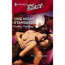 One Night Standards (Harlequin Blaze) by Cathy Yardley (2007-06-05)