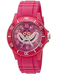 Disney Women's 'Alice' Quartz Plastic Casual Watch, Color Pink (Model: WDS000362)