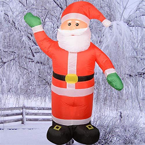 Weihnachten aufblasbarer Weihnachtsmann Licht Yard Dekorationen Indoor Outdoor -