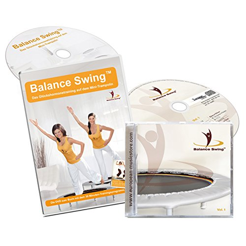 Balance Swing - Kombi Angebot: Fitness DVD + dazugehörige Musik CD für das Workout auf dem Mini-Trampolin