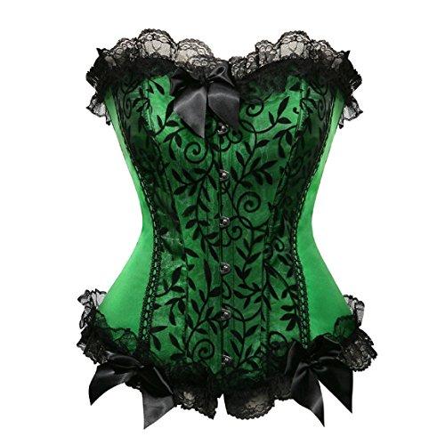 rosfajiama-splendido-elegant-floreale-vittoriano-fronzoli-corsetto-goth-punk-top-small-verde