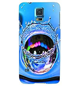 ColourCraft Water Burst Back Case Cover for SAMSUNG GALAXY S5 NEO