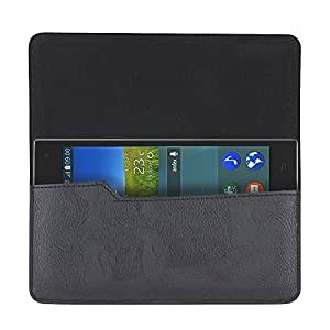 Viga ™ Black Flip Flap Wallet Mobile Pouch Case Cover For Gionee Ctrl V4