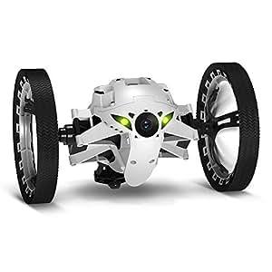 Parrot PF724000, Minidrones Jumping Sumo Robot, Bianco