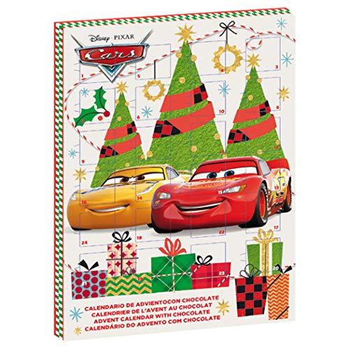 Disney Cars Adventskalender mit Vollmilchschokolade für Weihnachten 2019 Lightning McQueen