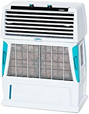 Symphony Touch 55 Room Air Cooler 55-litres with Double Blower, 4-Side Cooling Pads, Cool Flow Dispenser, Full