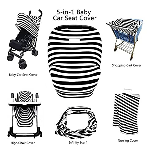 5 in 1 Multifunktion Outdoor Kinderwagendecke Babydecke für Kinderwagen Babyschale Buggy Jogger -- (Jahreszeit Stroller Abdeckung)
