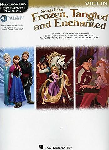 Hal Leonard Songs from Frozen,Tangled... - for Violin (Disney Verwünscht)