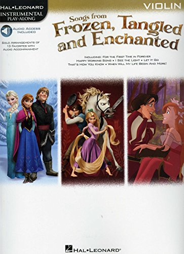 Preisvergleich Produktbild Hal Leonard Songs from Frozen,Tangled... - for Violin