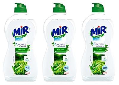 Mir Vaisselle Secrets de Nature Thé Vert 500 ml - Lot de 3