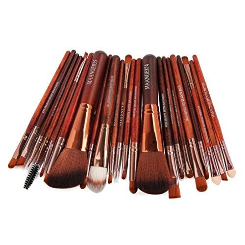 Pinceaux de Maquillage,Bekoard 22pc Cosmetic Makeup Brush Blusher Eye Shadow Brushes Set Kit (Noir)