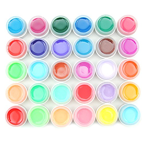 coscelia-lot-de-30-couleur-solide-pure-uv-gel-brillant-manucure-decoration