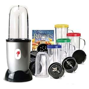 Appetitissime one touch bullet frullatore con accessori for Top cucina amazon