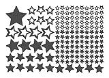 Wandtattoo Sterne Kinderzimmer Wandaufkleber Wandsticker