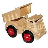 Small Foot by Legler LKW mit Kunststoffrädern aus Massivholz, mit beweglicher Ladefläche, realistisches Spielgefühl, fördert das Rollenspiel und die Kreativität, für Kinder ab 18 Monaten