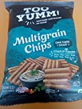 #9: Too Yumm Multigrain Chips Dahi Papdi Chaat 60gms (Pack of 10)